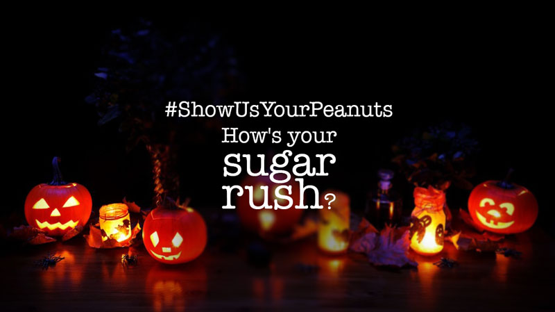 ShowUsYourPeanuts – How's your sugar rush?