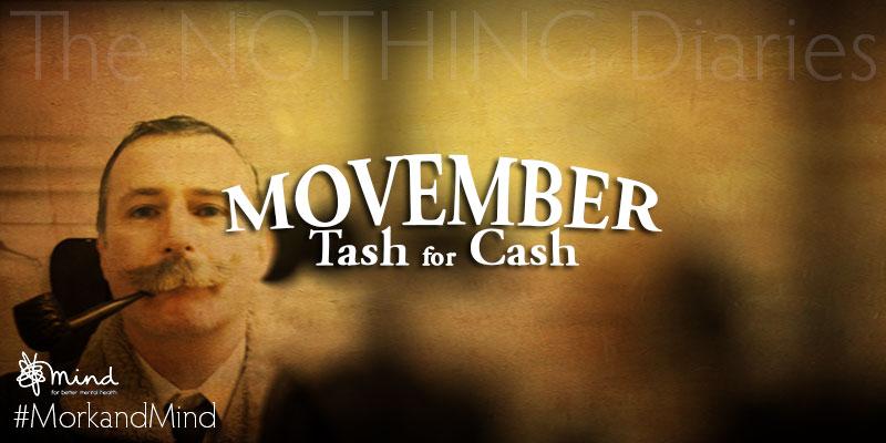 Movember – Tash for cash