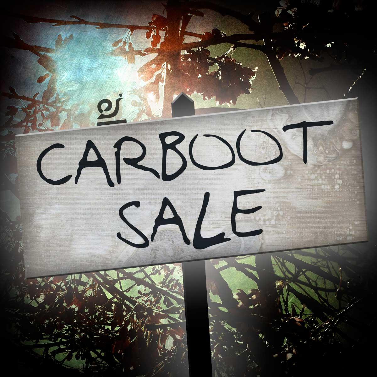 Car boot sale.