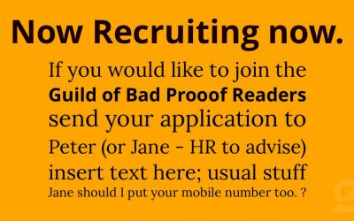 Now Recruiting now